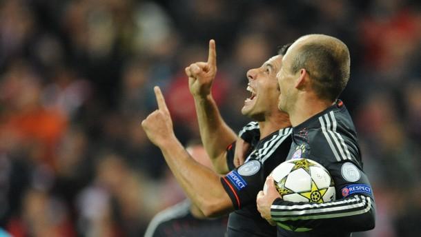 Bayern gewinnen in Bundesliga-Manier