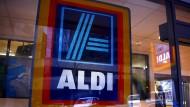 Bekanntes Bild: Eine Aldi-Filiale in Australien.