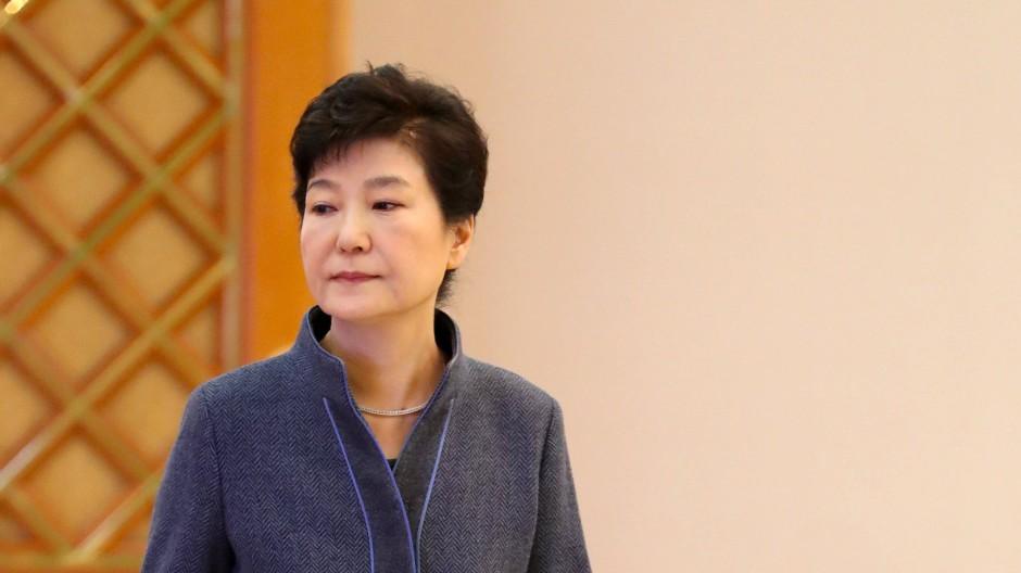 Südkoreas Präsidentin Park Geun-hye