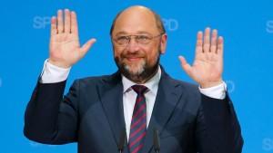 Schulz bringt der SPD keine besseren Werte