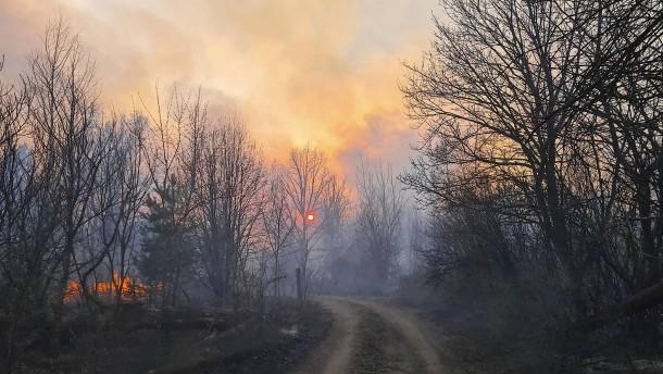 Brände bei Tschernobyl sind gelöscht