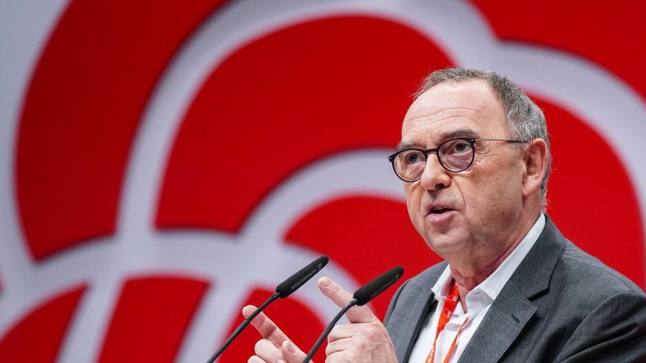 Norbert Walter-Borjans, Bundesvorsitzender der SPD