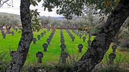 Deutscher Soldatenfriedhof in Spanien geschändet