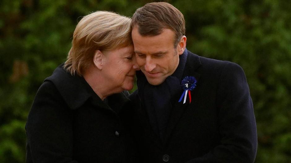 Ein Bild aus der bald guten alten Zeit deutsch-französischer Beziehungen