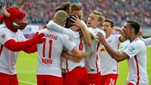 Leipzig jagt nur den Ball