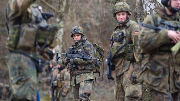 Die fast entblößte Bundeswehr
