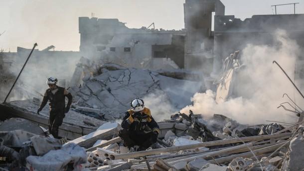 Kinder sterben bei russischem Luftangriff