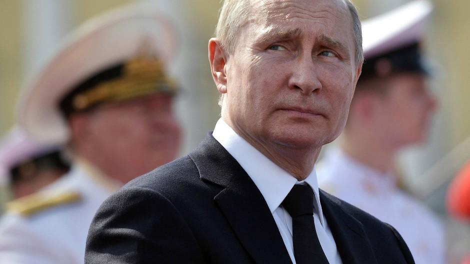 Unangefochten durch autoritäre Macht: Wladimir Putin