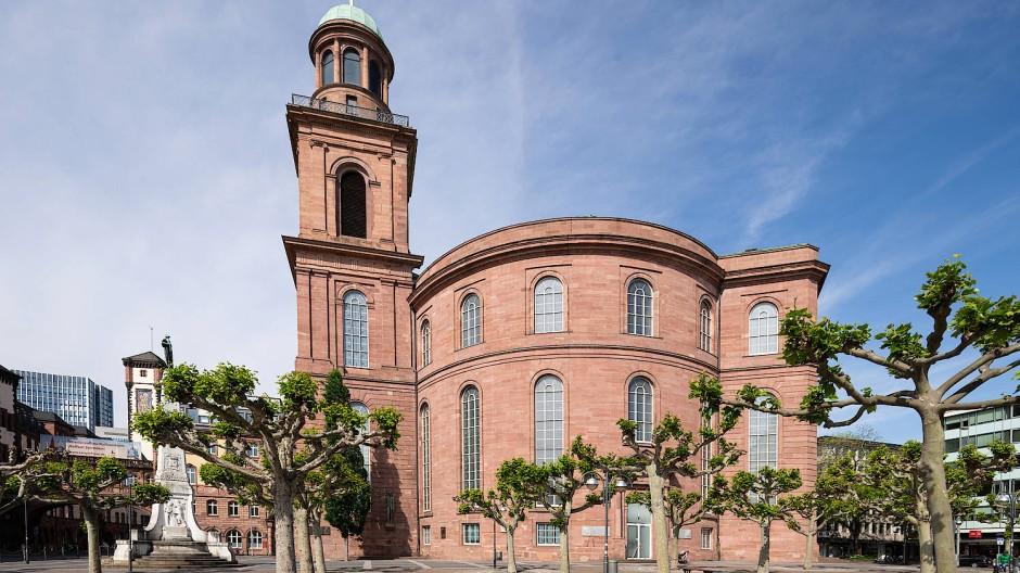 Umstritten: In welcher Form die Paulskirche saniert werden soll, darüber gehen die Meinungen auseinander.