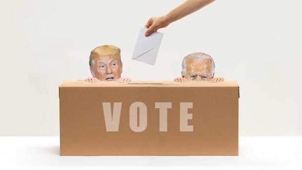 Warum kann Biden verlieren, wenn er die meisten Stimmen bekommt?