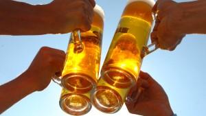 Ein Bier steht vor Gericht