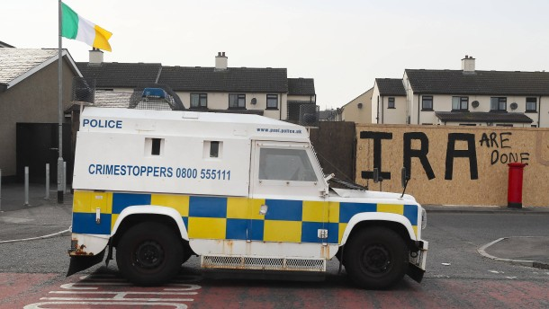 Bombe explodiert nahe Grenze zu Irland