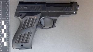 Großmutter mit Spielzeugpistole löst Polizeieinsatz aus
