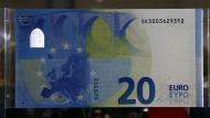 Das ist der neue 20-Euro-Schein
