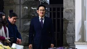 Samsung-Erbe entgeht Haftbefehl