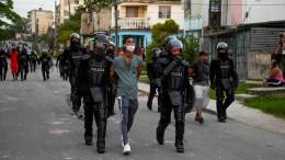 Ein Toter bei Protesten gegen Kubas Regierung
