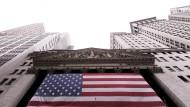 An der Börse in der Wall Street wachsen die Sorgen vor einer möglichen konjunkturellen Abkühlung in den Vereinigten Staaten.