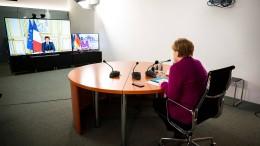 Wie Merkel und Macron sich zusammengerauft haben