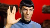 Leonard Nimoy (als Mr. Spock in einer Star Trek-Folge von 1967)