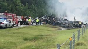 Zehn Tote bei Verkehrsunfall in Alabama