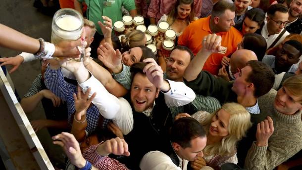 """German beer is strong"""