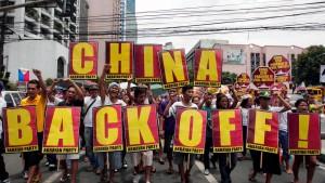 Anti-chinesische Demonstration auf den Philippinen