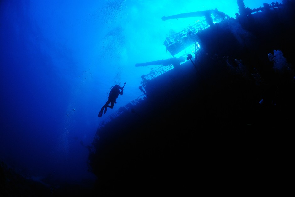 Das Wrack der Salem Express im Roten Meer lässt keinen Taucher ungerührt