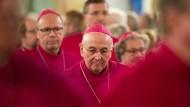 Bischof Felix Genn beim Eröffnungsgottesdienst der Frühjahrsvollversammlung der Deutschen Bischofskonferenz