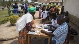 Schon mehr als 1100 Tote durch Ebola in Kongo