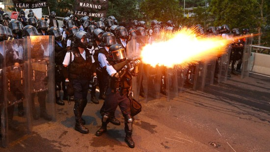 Proteste in Hongkong eskalieren