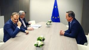 Brexit-Verhandlungen laufen zäh
