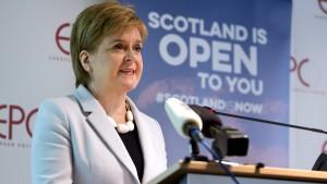 """Schottlands Regierungschefin will zurück """"nach Hause"""" in die EU"""