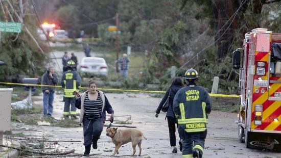 Tornado wütet in Vorort von Seattle