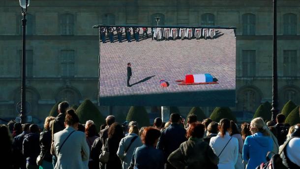 Frankreich ehrt verstorbenen Sänger Aznavour
