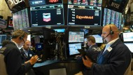 Handeln bis zur letzten Minute: Trader an der New Yorker Wall Street