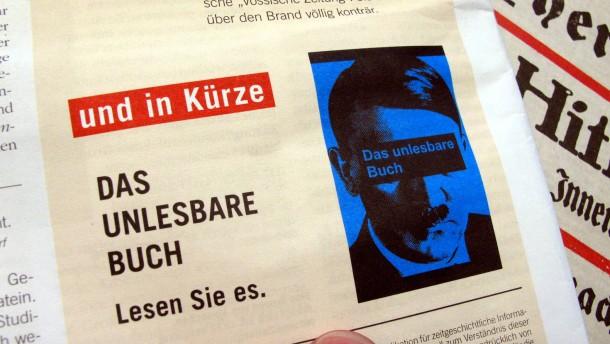 Gericht verbietet Veröffentlichung von «Mein Kampf»