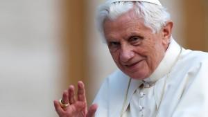Ein Papst sieht schwarz