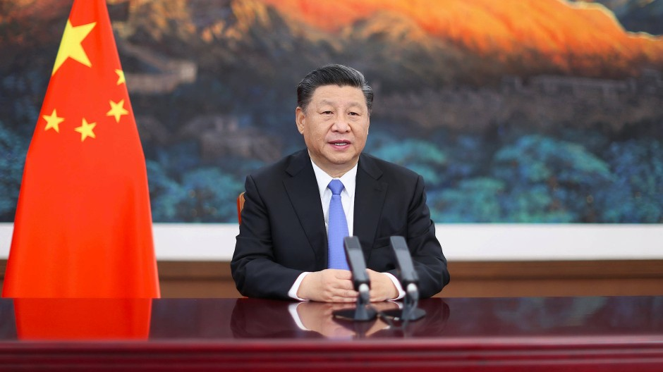 Ist Xi Jinping – hier bei seiner Video-Rede anlässlich der dritten Internationalen Importmesse Chinas – mit dem brutalen Gründer der Ming-Dynastie im vierzehnten Jahrhundert zu vergleichen?