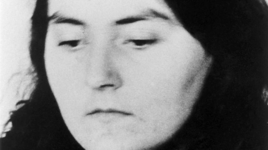 Christa Eckes auf einem Bild aus dem Jahr 1976