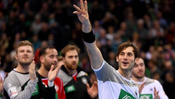 Starker EM-Test der deutschen Handballer