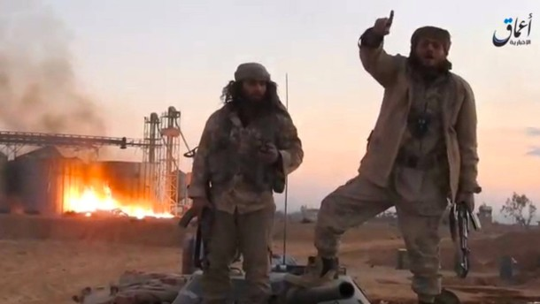 IS-Kämpfer töten in Palmyra zwölf Gefangene