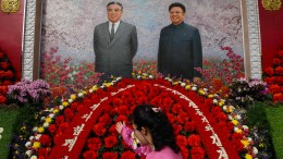 Nordkorea feiert Ex-Staatschef