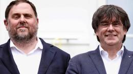 34 Katalanen bringen Kaution in Millionenhöhe auf