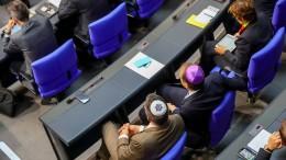 Bundestag bekennt sich zum Existenzrecht Israels