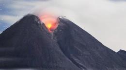 Spektakulärer Vulkanausbruch