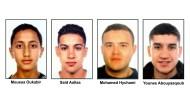 Dringend tatverdächtig: Die Polizei in Spanien sucht nach vier jungen Marokkanern