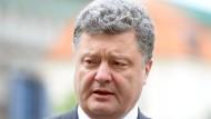 Poroschenko will Krieg und Chaos beenden