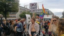 CSD in Darmstadt mit klarer Botschaft