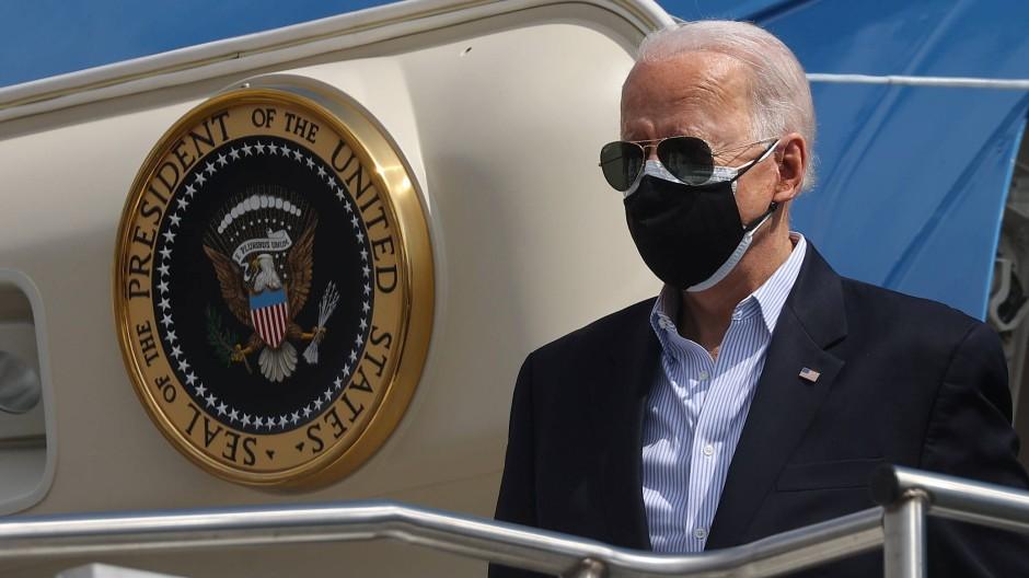 Der amerikanische Präsident Joe Biden in Houston (Archivbild)