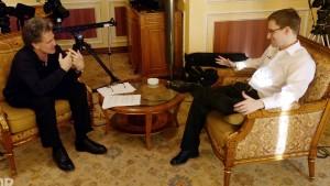 Ein Interview geht um die Welt, oder nicht?
